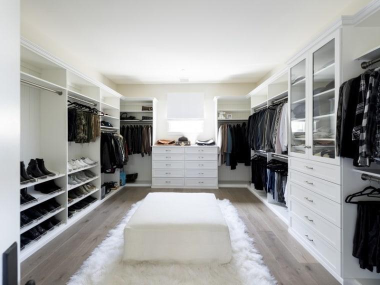 Scott Disick's closet
