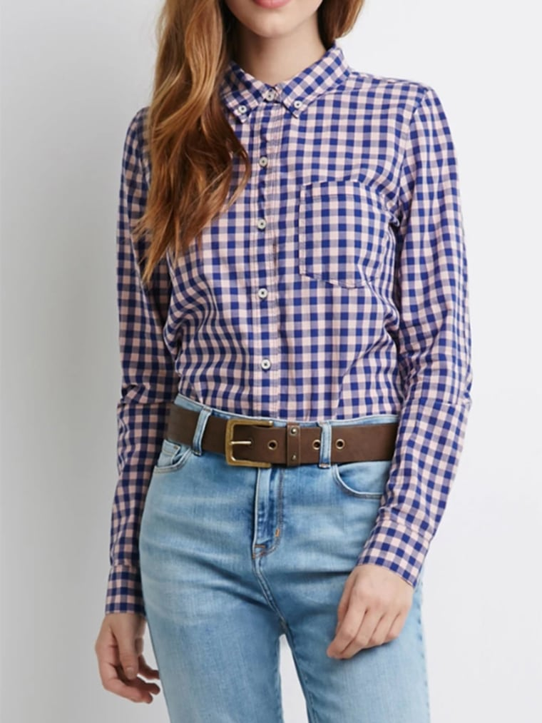 gingham clothes gingham shirt for women