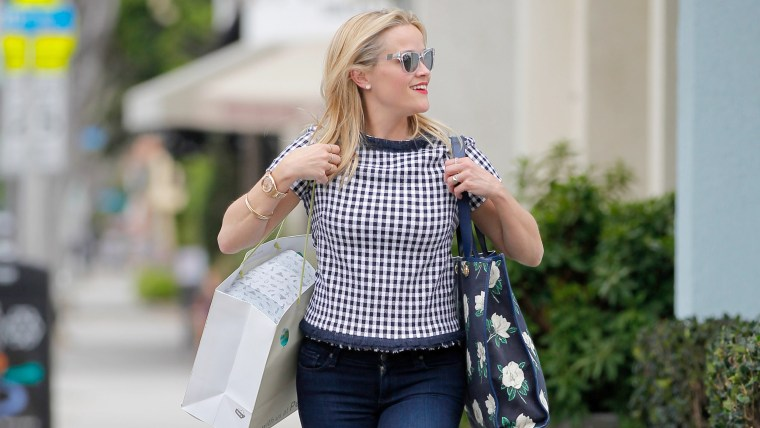 Reese Witherspoon, gingham
