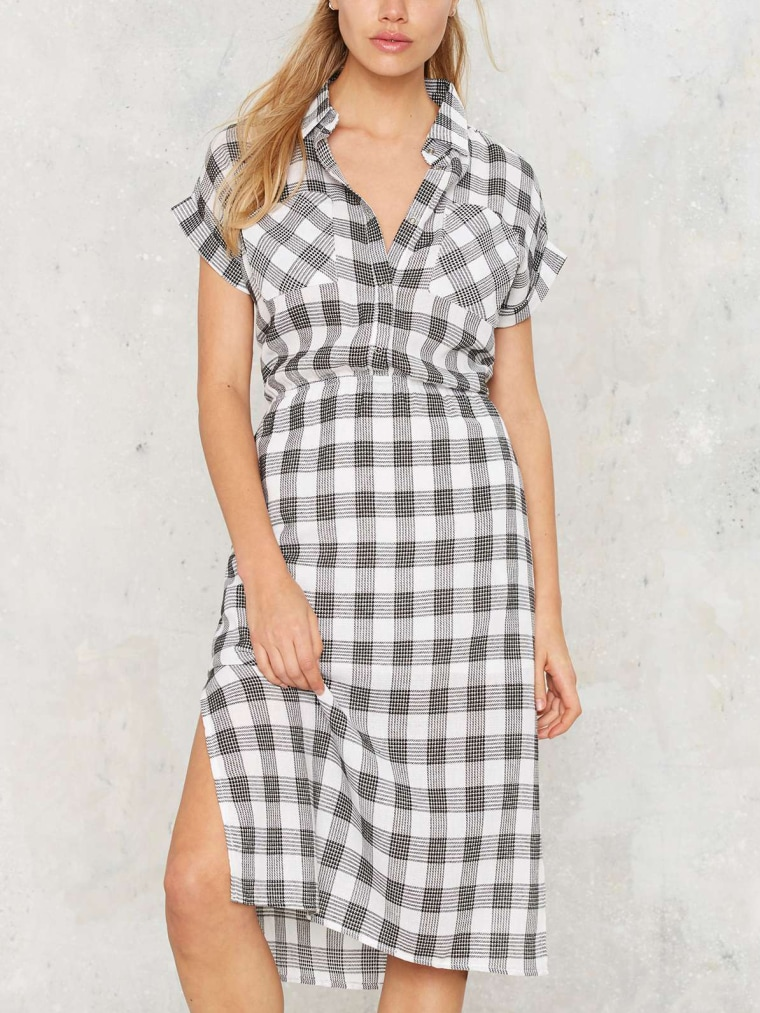 gingham clothes for women, Walk in the Park Gingham Dress