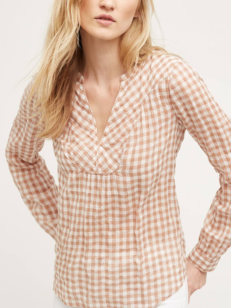 gingham clothes top for women, Devon Popover by Holding Horses, top, shirt