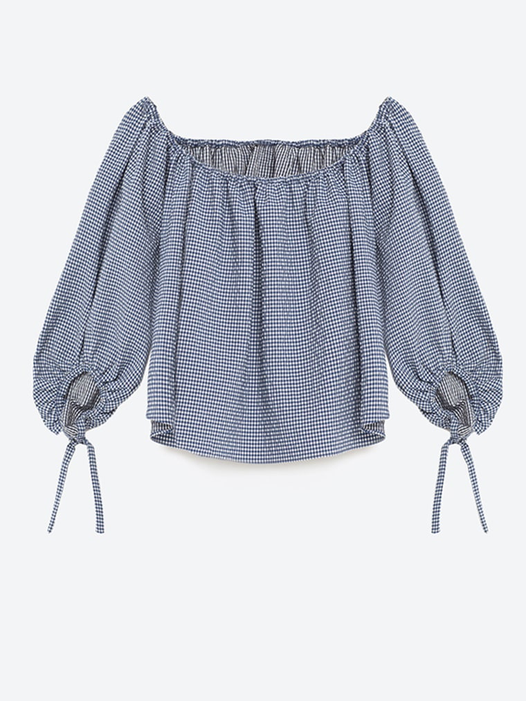 gingham clothes for women, Gingham Blouse