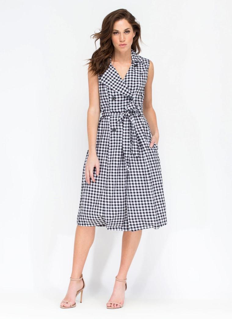 gingham dress gingham clothing, Vintage Vitality Gingham Dress