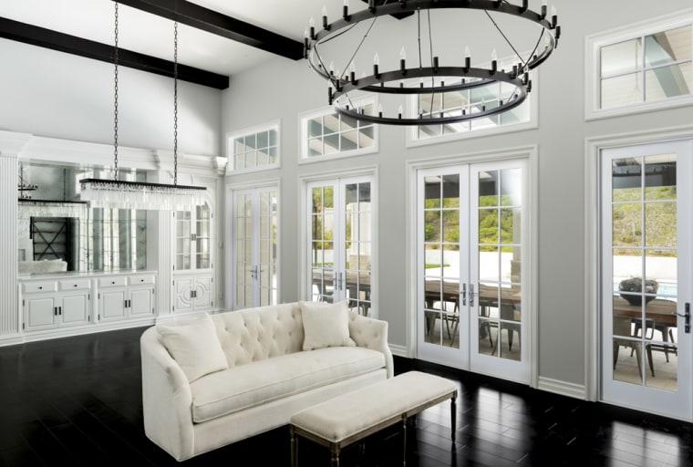Kylie Jenner's living room