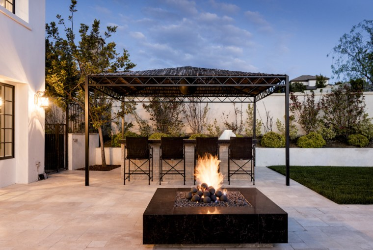 Kylie Jenner's outdoor area