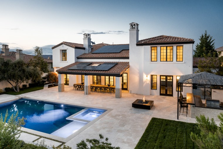 Kylie Jenner's backyard