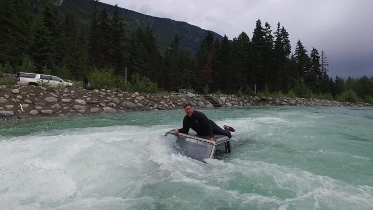 Jeff Rossen car flood