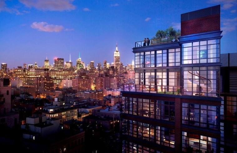 Ben Stiller's apartment