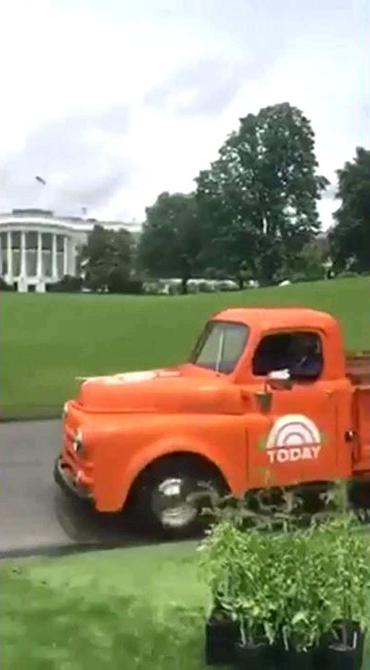 Al Roker takes over Michelle Obama's snapchat