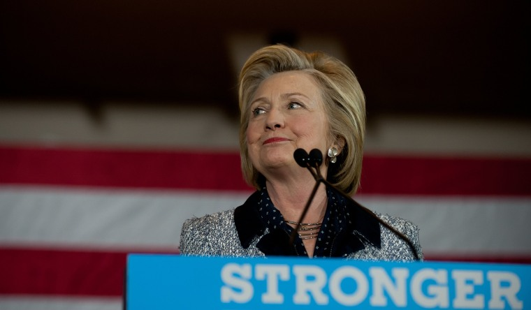 Image: Presumptive Democratic Presidential Candidate Hillary Clinton Campaigns In Western Pennsylvania