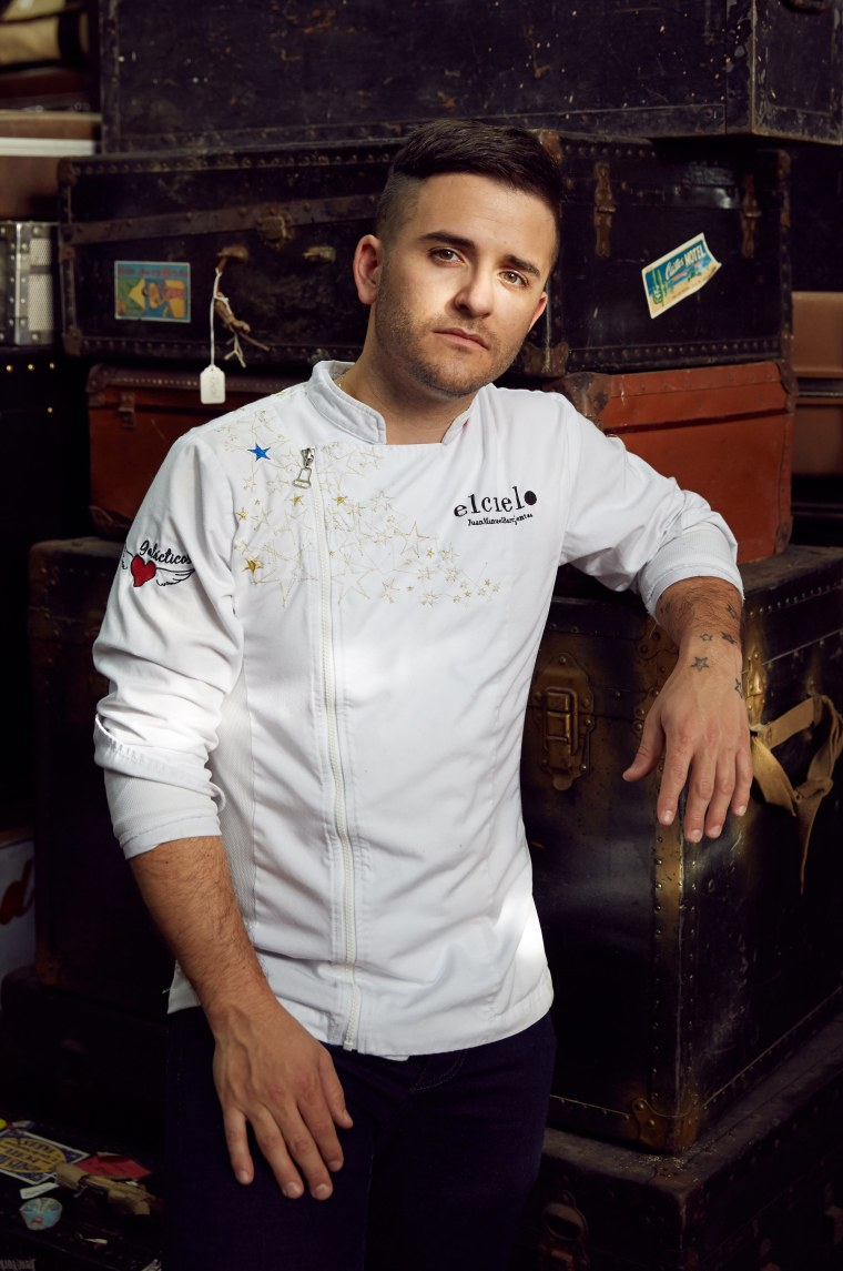 "Chef of El Cielo Colombian Restaurant, Juan Manuel Barrientos ""JUANMA"""