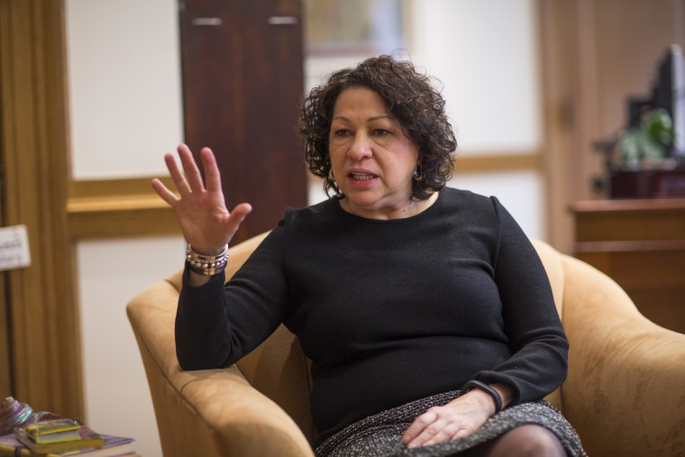 Portrait of Supreme Court Justice Sotomayor