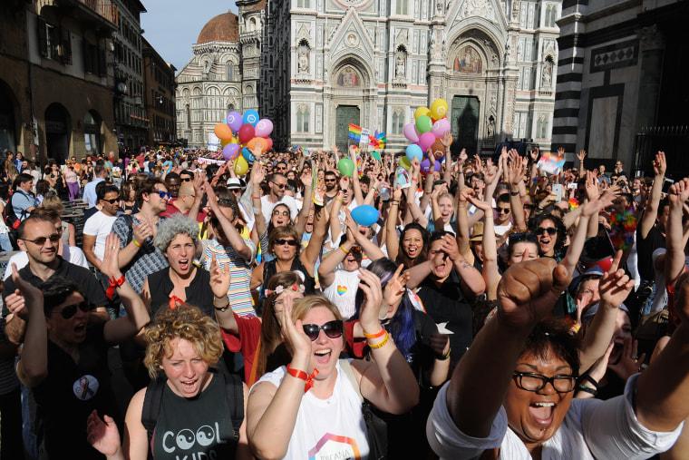 Gay Pride In Florence