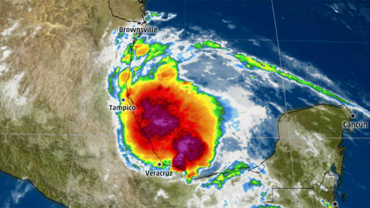 Tropical Storm Danielle brings a flood and mudslide threat to eastern Mexico early this week.