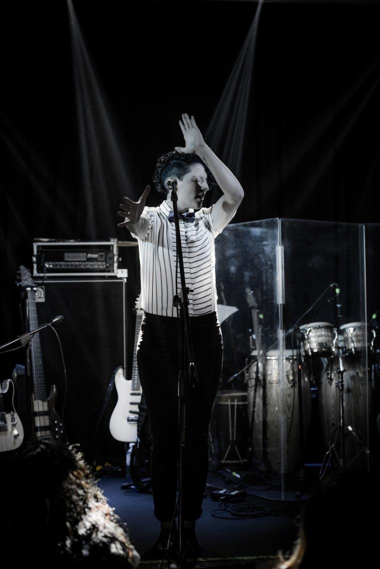 Peruvian singer Merian Eyzaguirre