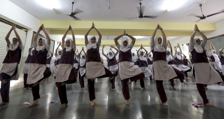 Image: International Day of Yoga in Mumbai