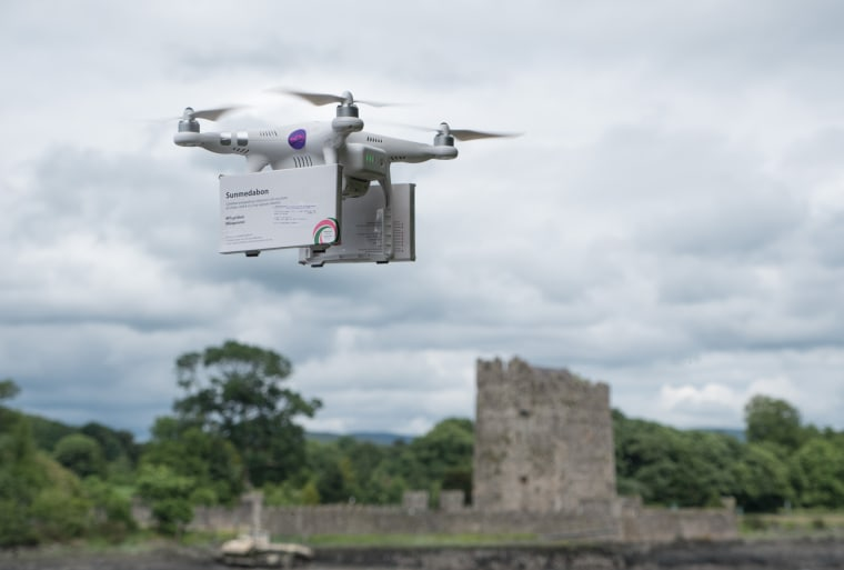 Image: A drone ferrying abortion pills