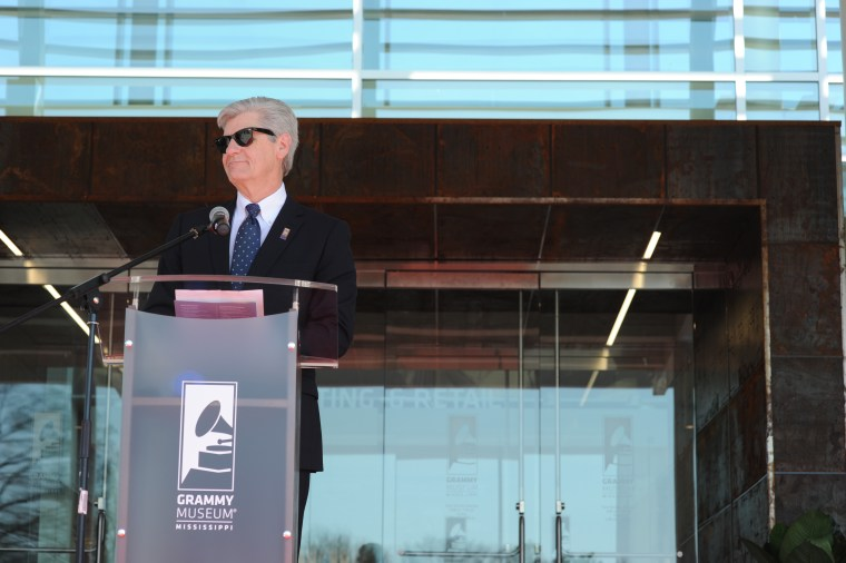 Mississippi Governor Phil Bryant at the Grand Opening of GRAMMY Museum Mississippi on March 5, 2016 in Cleveland, Mississippi.