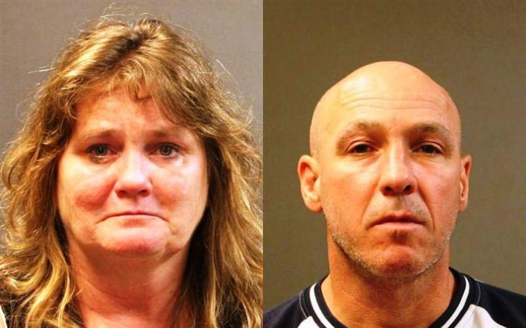 Colleen McDonough, left, and Timothy O'Sullivan, right. Booking photos for James Mulhern are unavailable.