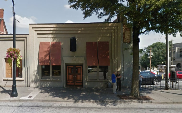 Gladys Knight's restaurant, Gladys Knight's Signature Chicken & Waffles seen at 529 Peachtree St. in Atlanta.