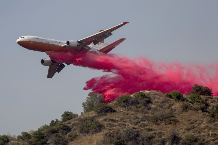 Image: BESTPIX - Wildfires Break Out In Los Angeles County As Temperatures Hit Record Highs