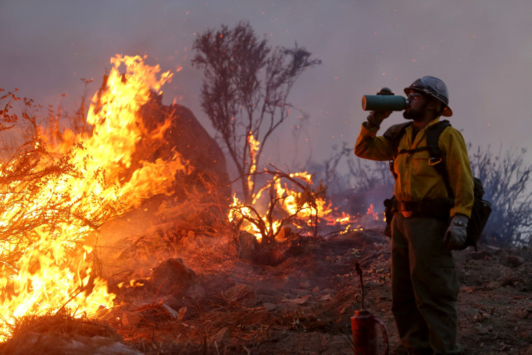 Image: US-FIRES-CALIFORNIA