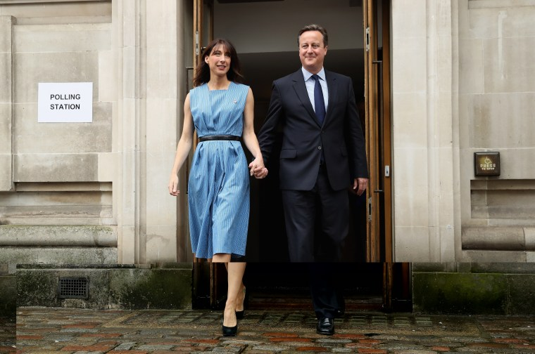 Image: David and Samantha Cameron