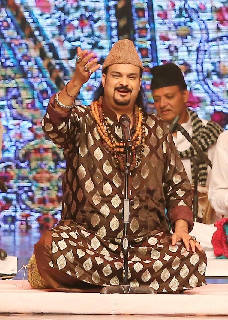 Image: Amjad Sabri