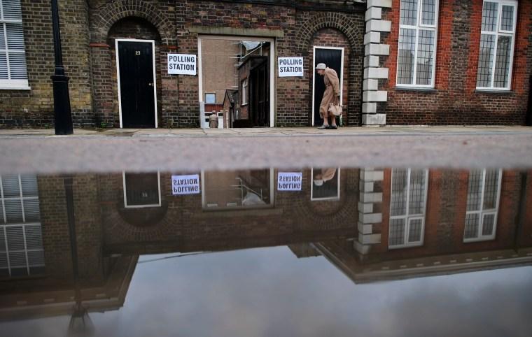 Image: TOPSHOT-BRITAIN-EU-VOTE-BREXIT