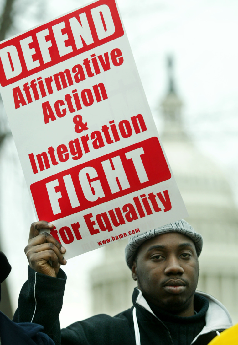 US Supreme Court Hears Arguments In Affirmative Action Case ?