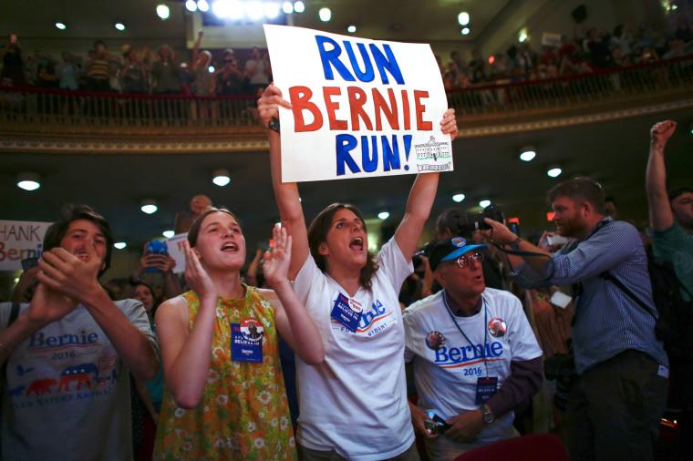 Image: US-POLITICS-ELECTION-DEMOCRATS-SANDERS