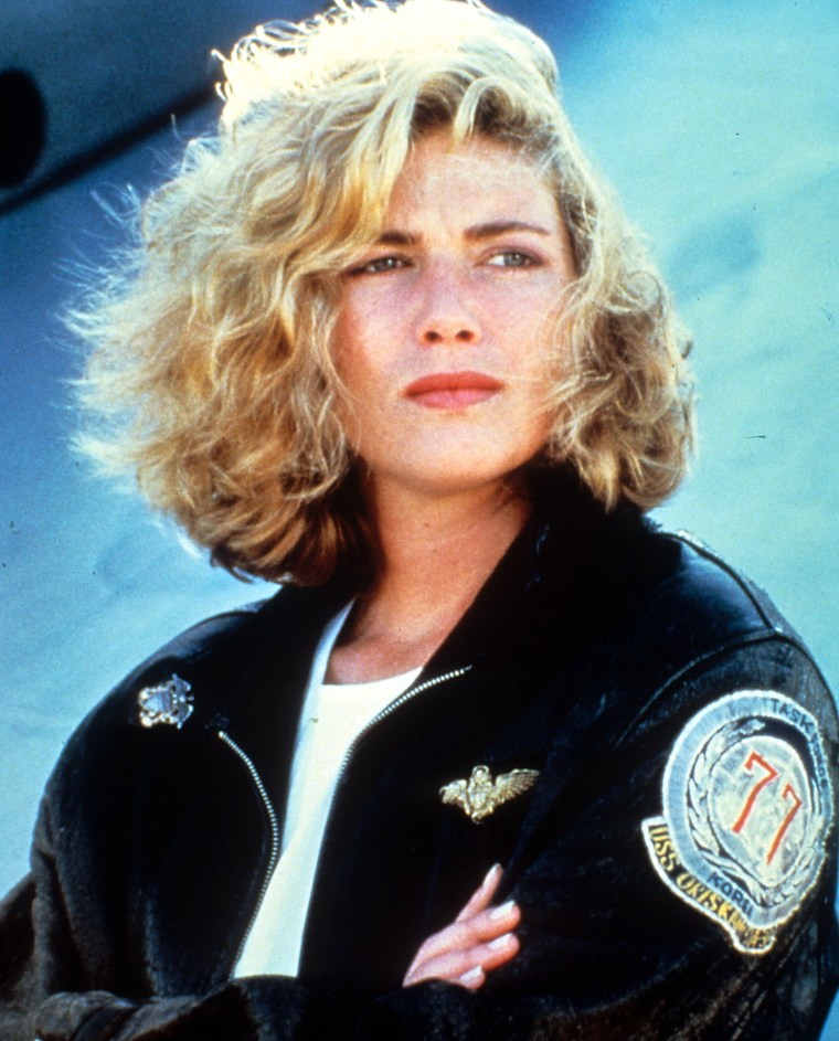 Kelly McGillis In 'Top Gun'
