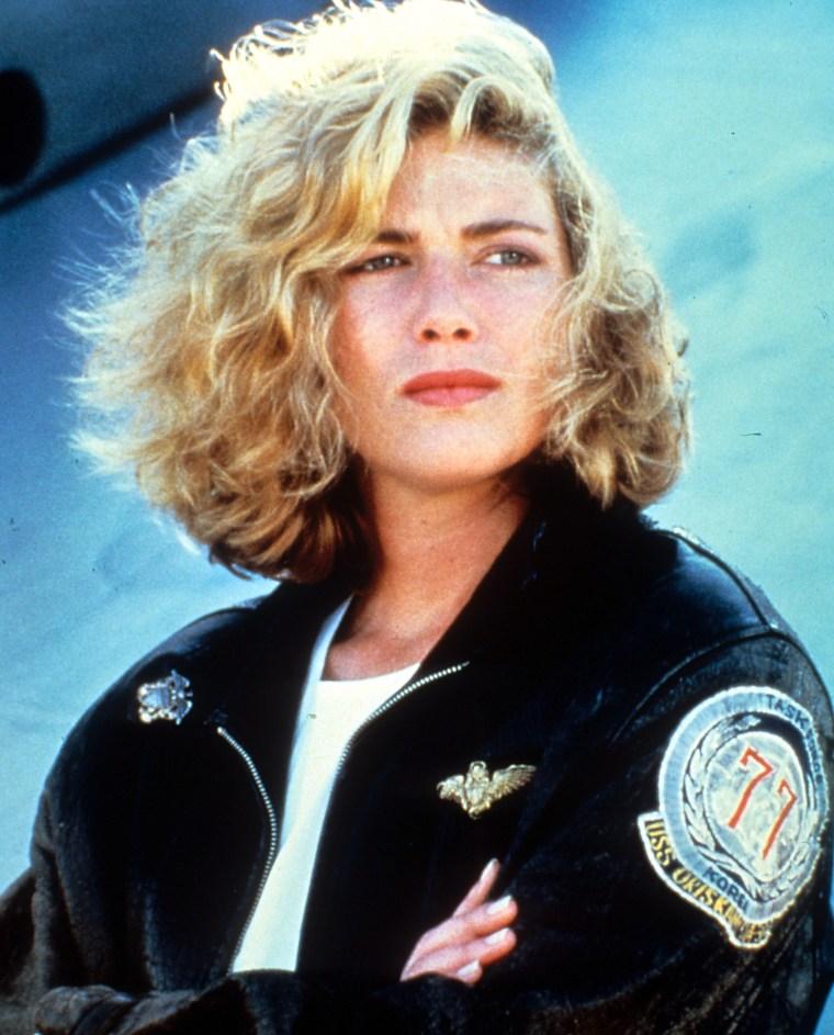 Kelly McGillis In 'Top Gun'