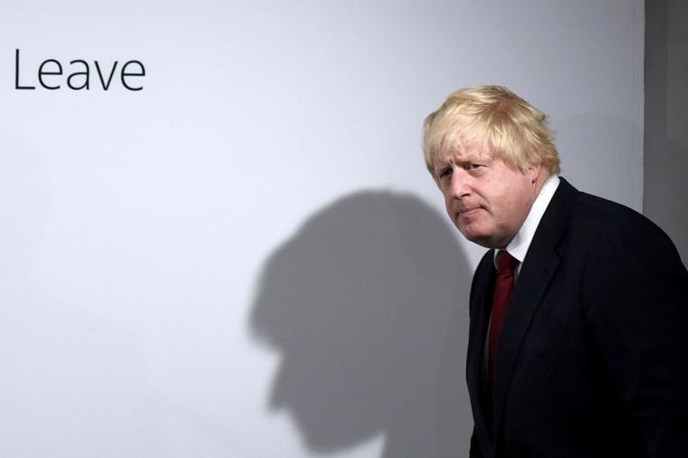 Image: TOPSHOT-BRITAIN-EU-VOTE-BREXIT-JOHNSON