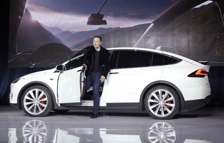 Elon Musk, Model X