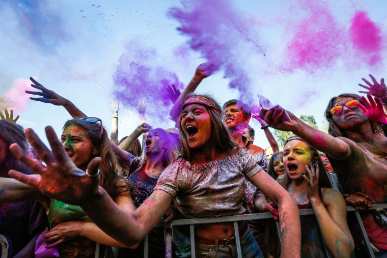 Image: Festival of Colors in Kiev