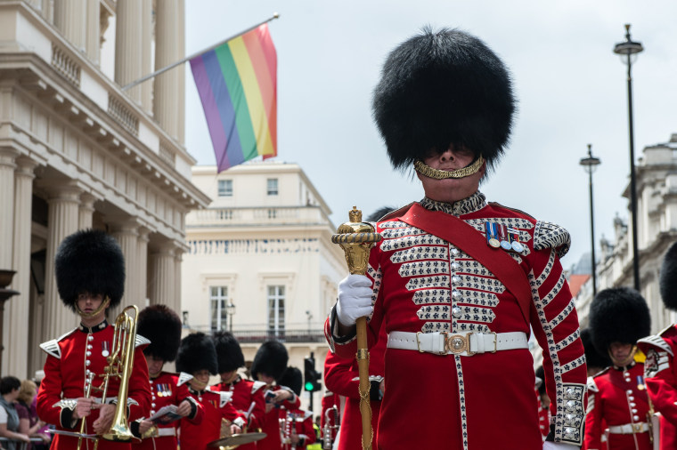 Image: The LGBT Community Celebrates Pride In London