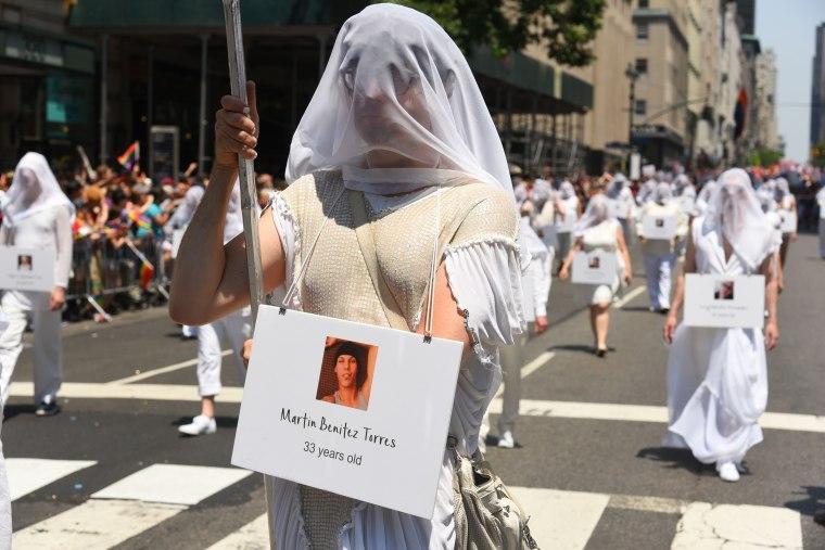 Image: Pridefest Parade, New York, USA - 26 Jun 2016