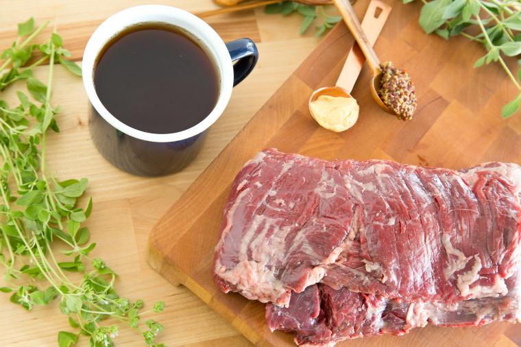 Healthy tea marinade for grilling