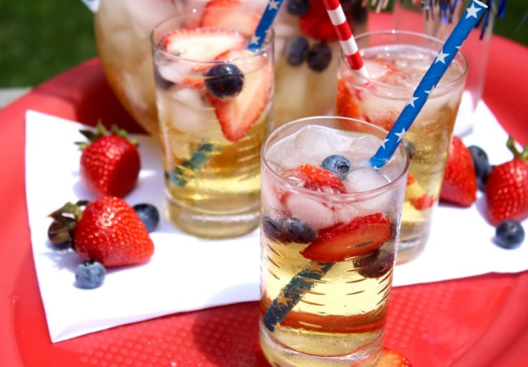 Cocktail for 4th of July