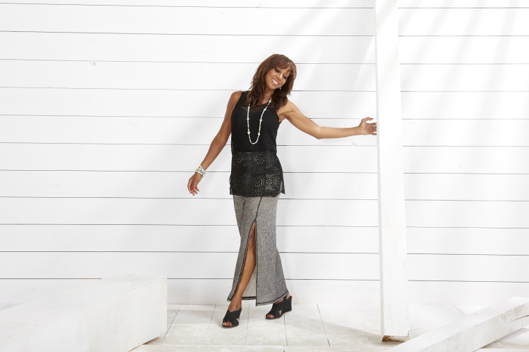 Actress Holly Robinson Peete launched clothing line for women earlier this summer.