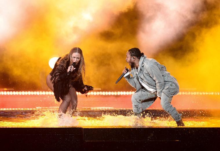 Image: Beyonce and Kendrick Lamar