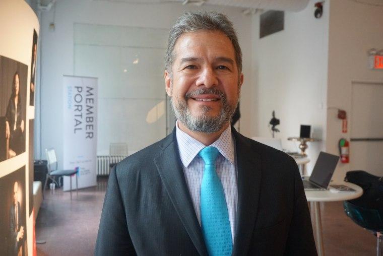 Ricardo Anzaldua, co-founder of The Alumni Society.