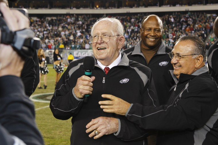 Image: Former Philadelphia Eagles Head Coach Buddy Ryan