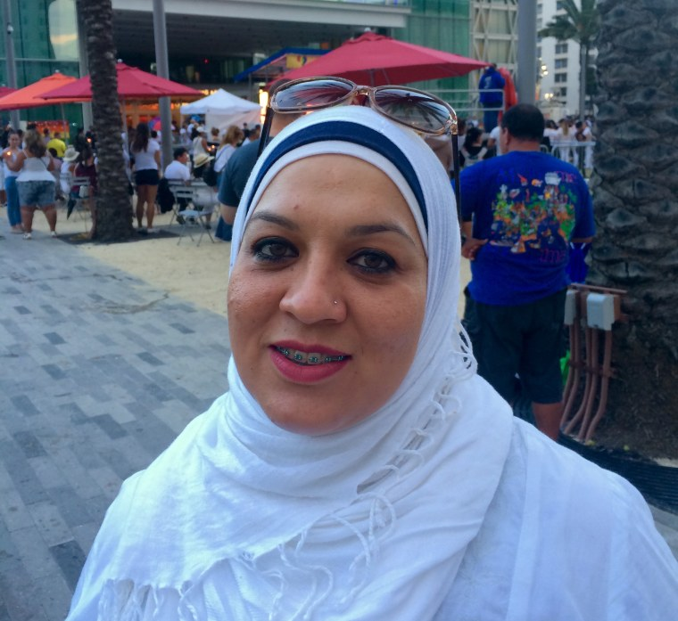 Vanessa Huesos is Puerto Rican, Muslim and a teacher who lives in Orlando, Florida.