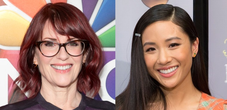 "Actresses Megan Mullally and Constance Wu will appear together on an episode of ""Dimension 404."""