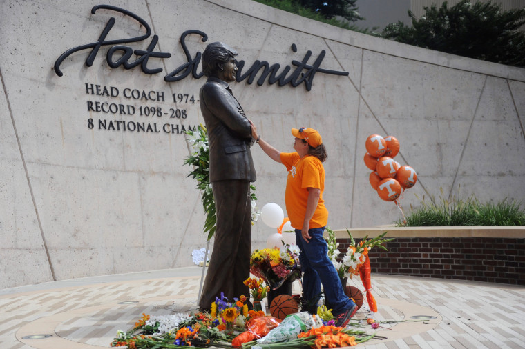 Image: Basketball Coach Pat Summit Dead at 64