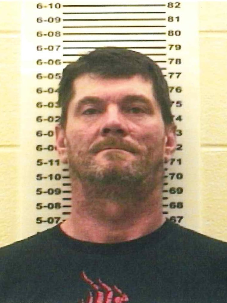 Image: Jay Rupert was arrested on two counts of neglect of a dependent