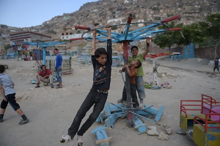 Image: TOPSHOT-AFGHANISTAN-RELIGION-RAMADAN