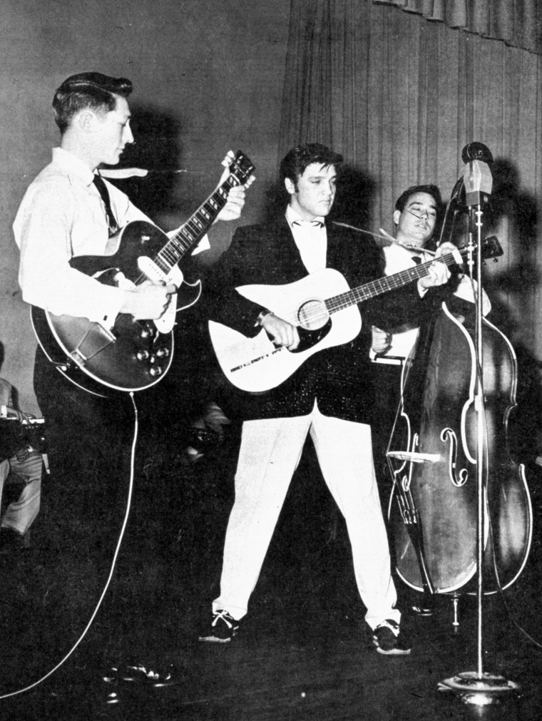IMAGE: Scotty Moore with Elvis Presley